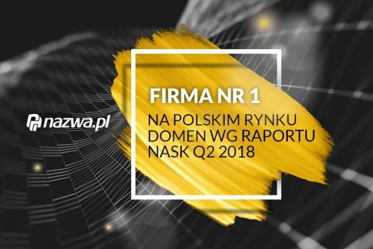 nazwa.pl liderem wśród rejestratorów domen