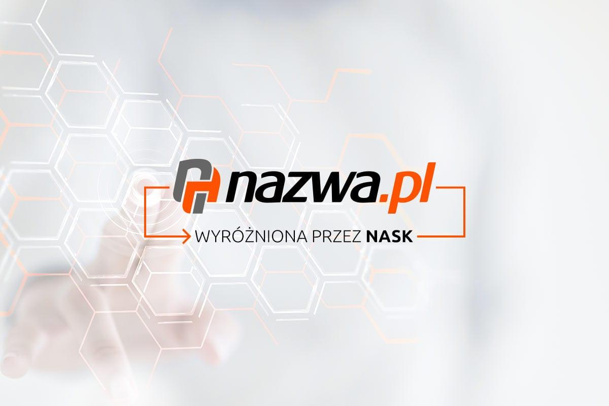 nazwa.pl wyróżniona przez NASK.