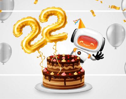 22 urodziny nazwa.pl