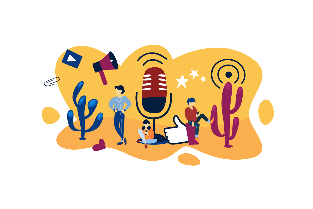 dźwięk do podcastów
