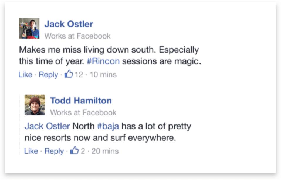 komentarze na facebooku