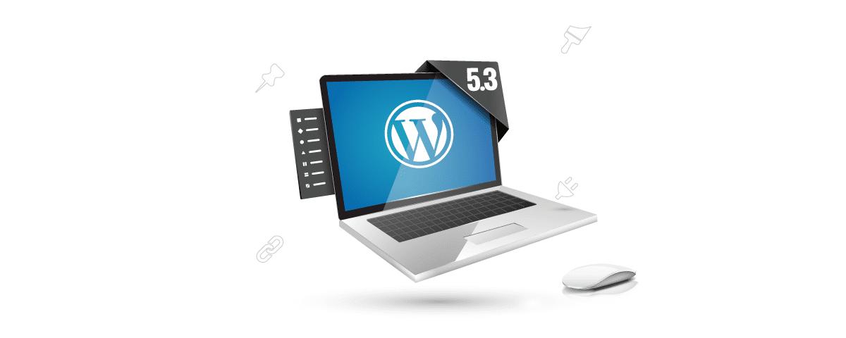 """WordPress 5.3 """"Kirk"""" w polskiej wersji językowej z wieloma nowymi funkcjonalnościami już na serwerach nazwa.pl. Dowiedz się więcej na blogu nazwa.pl."""