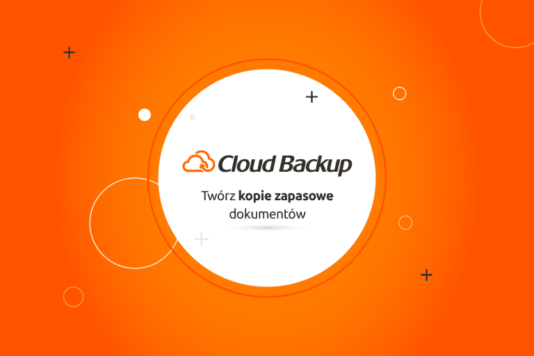 nowe funkcjonalności Cloud Backup