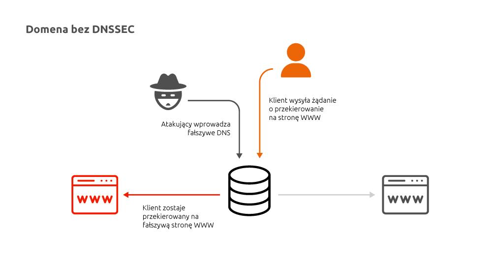 Domena bezzabezpieczenia DNSSEC | nazwa.pl