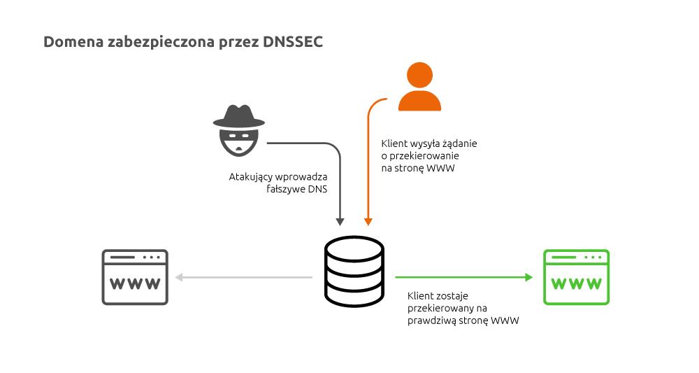 Domena zabezpieczona zapomocą DNSSEC | nazwa.pl