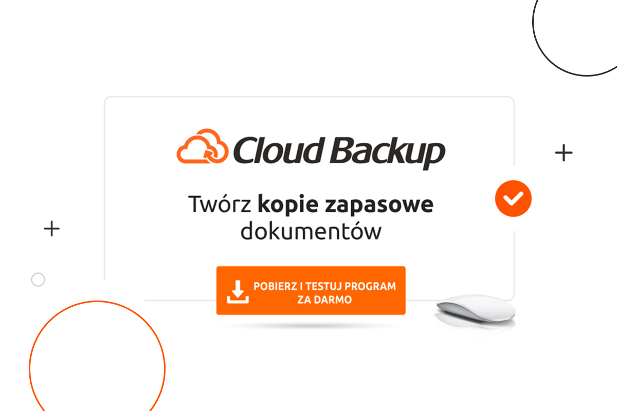 wersja trial programu cloud backup