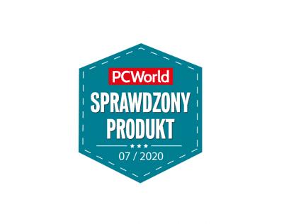 Cloud Backup z wyróżnieniem Sprawdzony Produkt od redakcji PC World | nazwa.pl