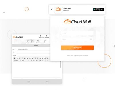 Cloud Mail - poczta bez reklam i spamu od nazwa.pl