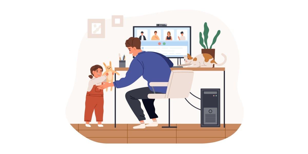 Sprawna komunikacja podczas pracy zdalnej jest kluczowa | nazwa.pl