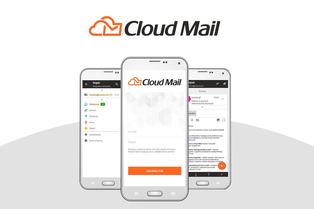 Program pocztowy Cloud mail w nowej odsłonie   nazwa.pl