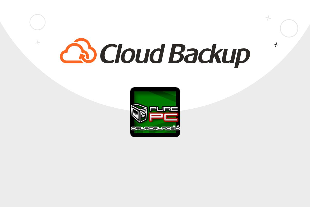 Nagroda Opłacalność dla Cloud Backup od PurePC | nazwa.pl