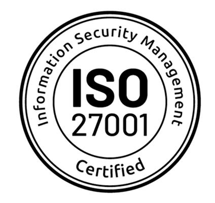 Certyfikat bezpieczeństwa ISO 27001 2017