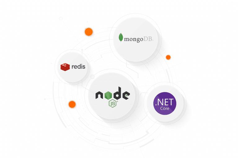 Nowe technologie node.js, .NET Core, Mongo DB i Redis w nazwa.pl