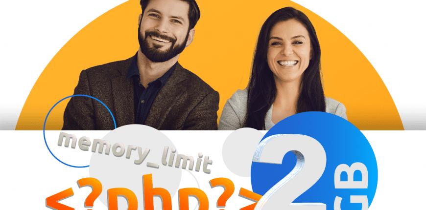 2 GB dla pojedynczego procesu PHP na hostingu w nazwa.pl