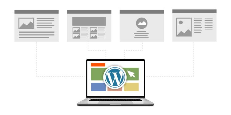 Nowoczesna strona internetowa działająca w oparciu o CMS WordPress w nazwa.pl
