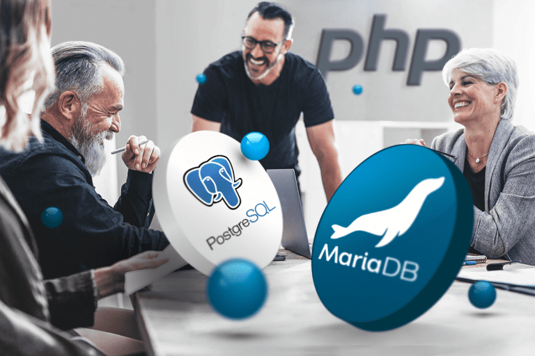 Zwiększ wydajność i bezpieczeństwo swojej strony WWW korzystając z najnowszych wersji PHP, MariaDB i PostgreSQL! - nazwa.pl
