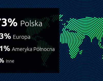 Skąd pochodzą odbiorcy polskich stron internetowych