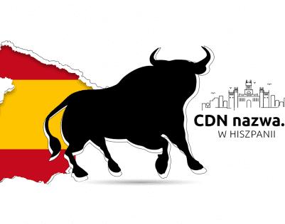Nowy węzeł CDN nazwa.pl w Hiszpanii