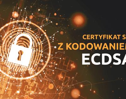 Wybierz nowoczesny Certyfikat SSL z kodowaniem ECDSA | nazwa.pl
