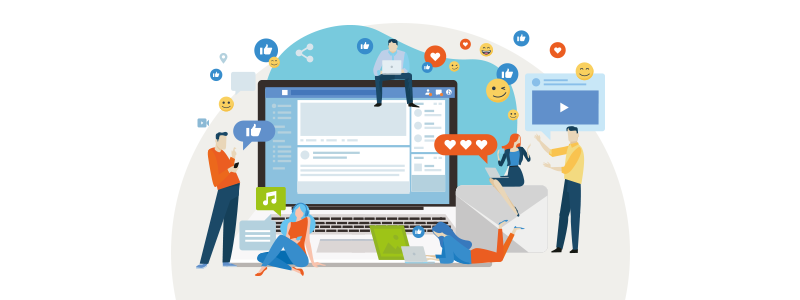 Social media (media społecznościowe) | nazwa.pl