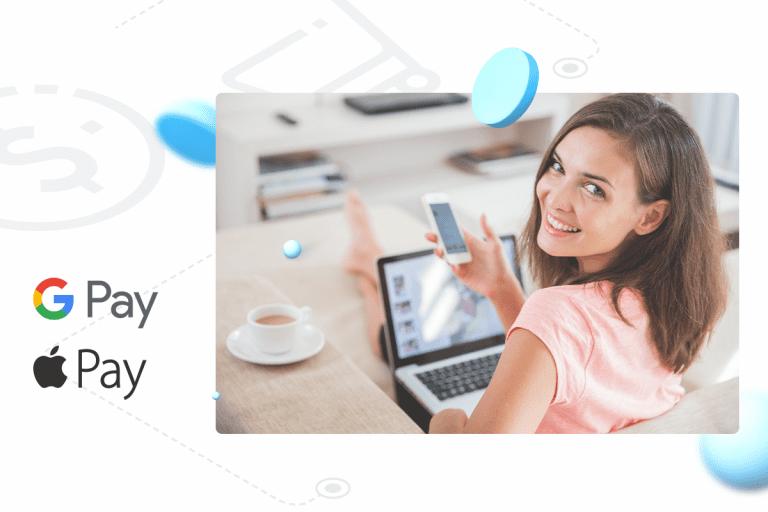 Google Pay i Apple Pay – szybkość i wygoda w rozliczeniach z nazwa.pl!