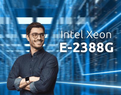 Nowe serwery nazwa.pl z Intel Xeon E-2388G szybsze o 44%