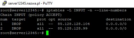 iptables navps nazwa.pl linux