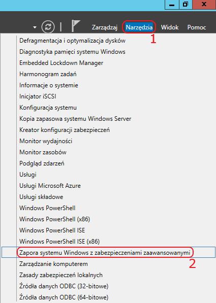 menedzer serwera vps windows